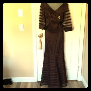 Long dress two pieces